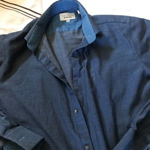 Ted Baker Long Sleeve Button